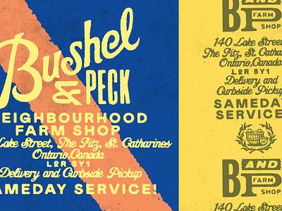 Bushel & Peck – 1/5 branding gold lunchbox