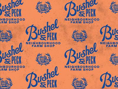 Bushel & Peck – 4/5 lettering branding gold lunchbox karl hebert