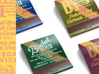Bushel & Peck – 5/5 branding lettering goldlunchbox karl hebert