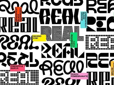 What is Real? wordmark gold lunchbox karl hebert