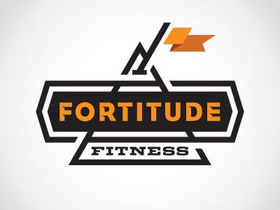Fortitude fortitude fitness logo identity karl goldlunchbox hebert austin texas