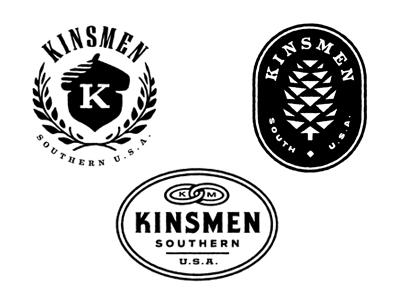 Kinsmen gold lunchbox karl hebert logo acorn pinecone chain link