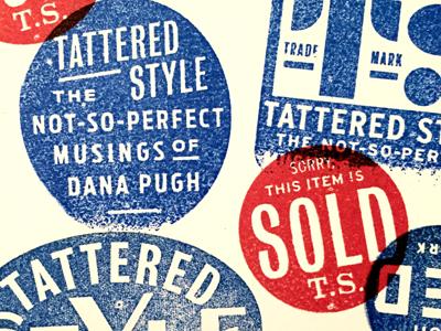 Tattered Style branding stamps tattered style gold lunchbox karl hebert