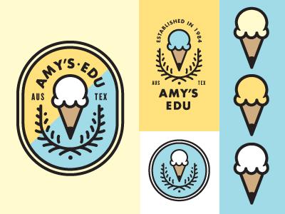 Amy's EDU education pencil ice cream amys arts  recreation goldlunchbox.com karl hebert gold lunchbox