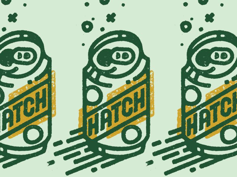 Cheers... aluminum can beer hatch gold lunchbox goldlunchbox karl hebert