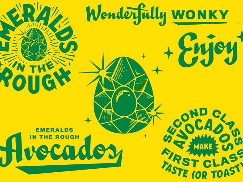 AVOCADOS SUCKA avocado hatch gold lunchbox goldlunchbox karl hebert