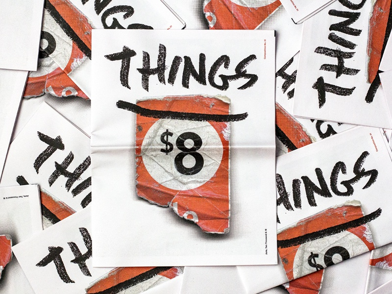 THINGS –Composition No. 1 hoarder collage things gold lunchbox goldlunchbox karl hebert