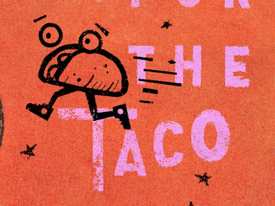 The Taco taco gold lunchbox karl hebert
