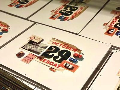 Hoarder Prints screenprints silkscreen print gold lunchbox