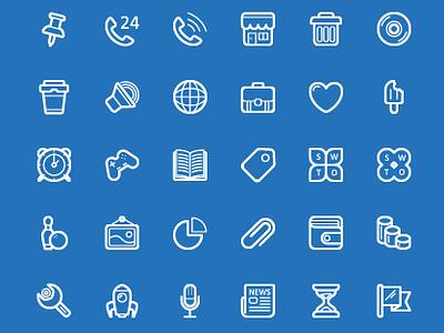 Dribbble Shot 100 Free Icons icon-set icon-pack free-icon vector-icon ai freebies free icon icons