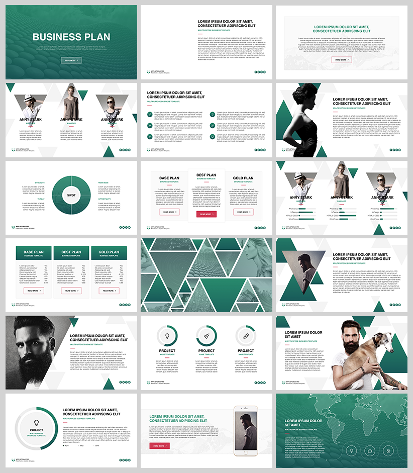 Dribbble business plan free powerpoint keynote templateg by business plan free powerpoint keynote template toneelgroepblik Images