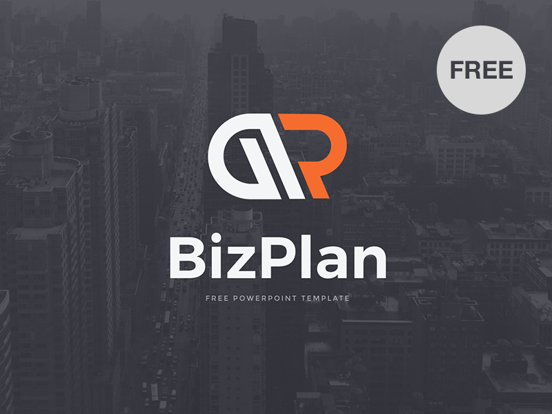 Free PowerPoint template: BizPlan template startup presentation modern marketing powerpoint key freebies free download corporate business