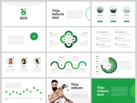 Free powerpoint template eco by hislide dribbble eco free powerpoint template toneelgroepblik Image collections