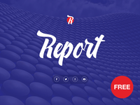 Free PowerPoint template: Report