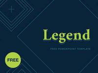 Free PowerPoint template: Legend