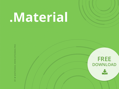 Free PowerPoint template: Material template report presentation pptx ppt powerpoint material marketing freebies free download business