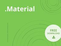 Free Keynote template: Material