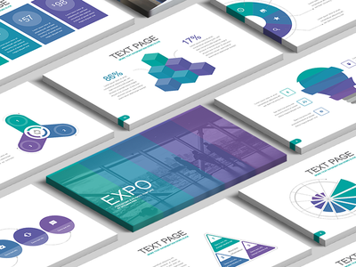 Free Keynote template: Expo