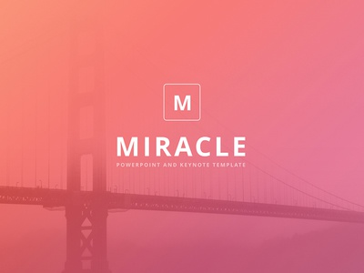 """Miracle"" PowerPoint & Keynote Template"