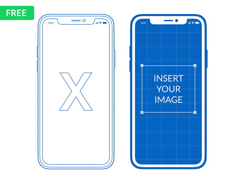 Free Iphone X Mockup For Powerpoint Keynote By Hislide Dribbble