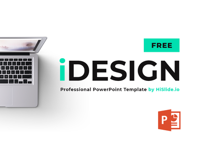 iDESIGN Free PowerPoint download report freebies free download infographic power-point template slide presentation pptx powerpoint