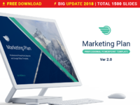 01 marketing plan free powerpoint template