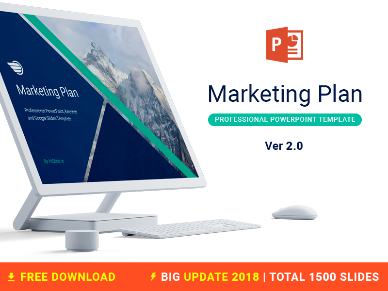 Marketing Plan Free PowerPoint template hislide download timeline report business template slides free freebies powerpoint plan marketing
