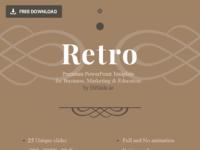 01 retro powerpoint template