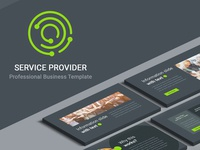 "[Free] ""Service Provider"" Presentation Template docs google slides powerpoint pptx ppt keynote key template freebies presentation free"