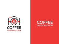 Coffee Construction Logo