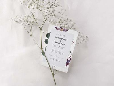Free Beautiful Wedding Invitation Template