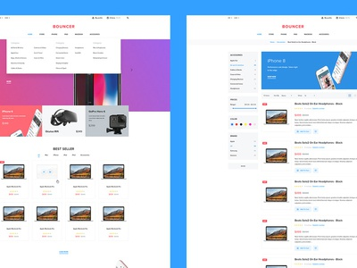 Bouncer Free Ecommerce Ui Kit