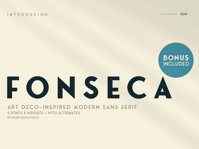 Fonseca Free Font Family