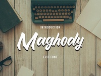 Maghody Free Script Typeface