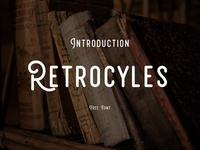 Retrocycles - Free Vintage Font Download