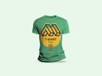 Round Neck T Shirt Mockup