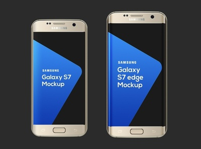 Free Samsung Galaxy S7 S7 Edge Mockup