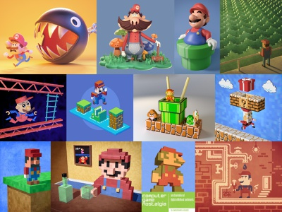 Mario! illustrations