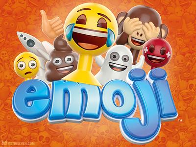3D Emoji toy models design toy illustration fun logo cartoon 3dmodeling 3dmodels toys 3d emoticons emoji