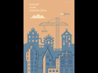 Science-fiction novel cover design
