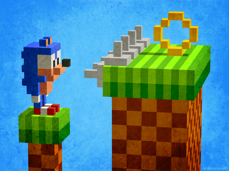 Sonic The Hedgehog Designs Themes Templates And Downloadable Graphic Elements On Dribbble
