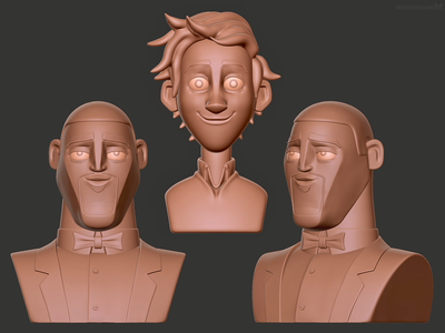Spies in Disguise toy sculpts campagne promotie campaign promotion 3d modeler modeling models sculptures design toys toy walter lance movie film animatie animation spionnengeheimen spies in disguise