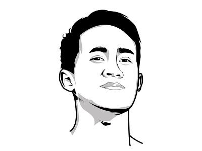 ar design creative character work portrait illustration art vexel vector illustrator