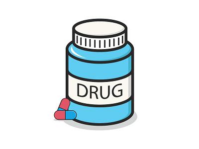 drug design creative character work portrait illustration art vexel vector illustrator