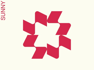 sunny day dutch sole pattern modern modernist modernism sunny sun abstract picto symbol trademark logo mark marks