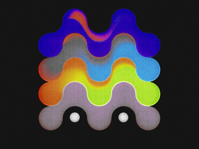 Drugs marks logo mark colorful illustration symbol drugs vibe vibes retro modernist modernism japanese 1970 psychedelic m time