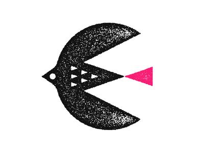 Fly Fast. tail red e eagle flying fly illustration mark icon crown black bird illustration bird logo swallow birdz bird