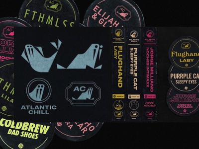 Atlantic Chill. Lo-Fi playlist by Atlantic Records. chill chilling badges badge logo animal mark walrus lofi.lo-fi playlist atlantic chill atlantic records