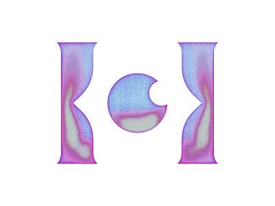 Helium monogram lettering columns eyes eye h letter branding modernism icon mark marks symbol logo