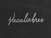 vacaliebres letters